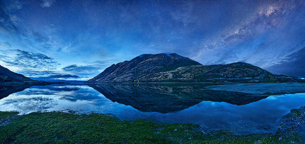 Lake Photograph - Lake Hawea by Yan Zhang