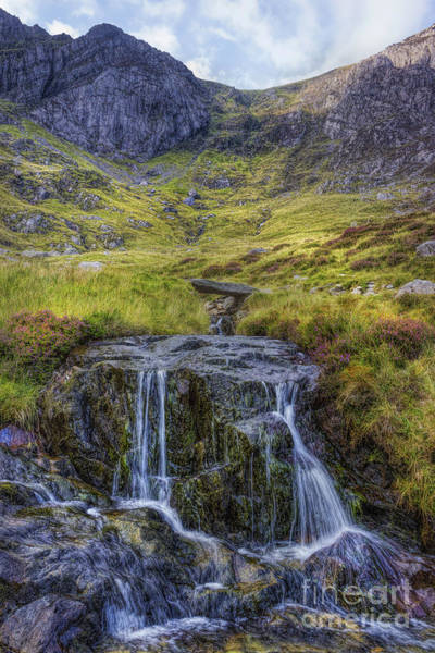 Photograph - Lake Idwal Stream by Ian Mitchell