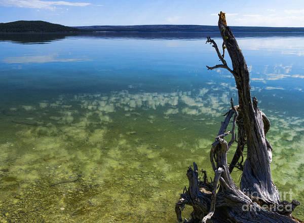 Photograph - Lake In Yellowstone by Brenda Kean