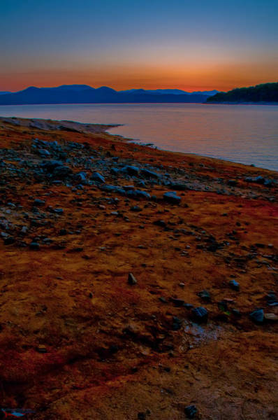 Photograph - Lake Jocassee Sunrise by Alex Grichenko