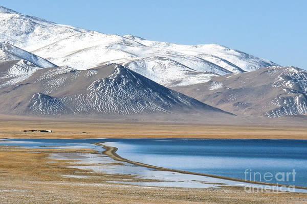 Photograph - Lake Kara Kul by Karla Weber