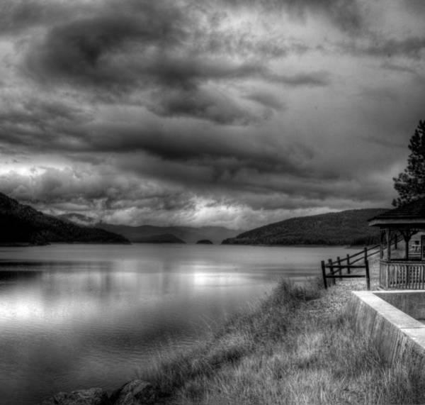 Photograph - Lake Koocanusa At Libby Dam 2 by Lee Santa