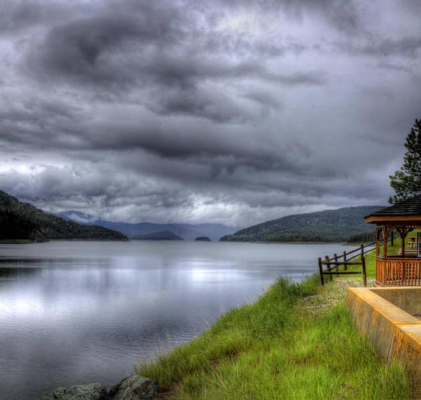 Photograph - Lake Koocanusa At Libby Dam by Lee Santa