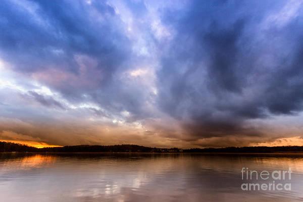 Photograph - Lake Lanier Sunset by Bernd Laeschke