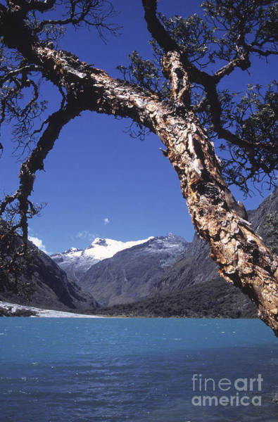 Photograph - Lake Llanganuco Peru by James Brunker