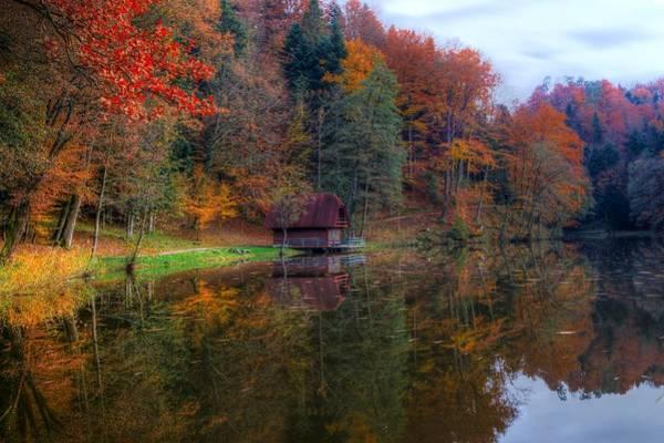 Photograph - Lake Lodge by Ivan Slosar