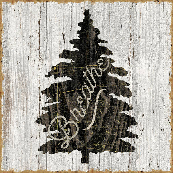 Cabin Wall Art - Painting - Lake Lodge X Neutral by Sue Schlabach