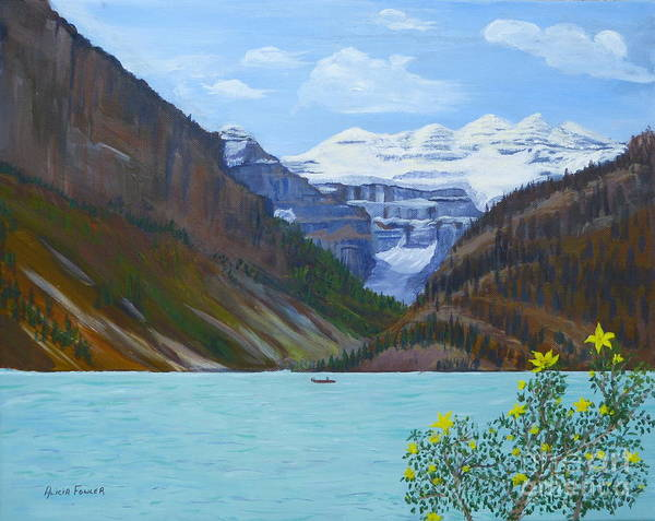 Painting - Lake Louise by Alicia Fowler
