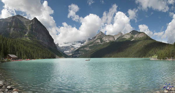 Photograph - Lake Louise by Kenneth Hadlock