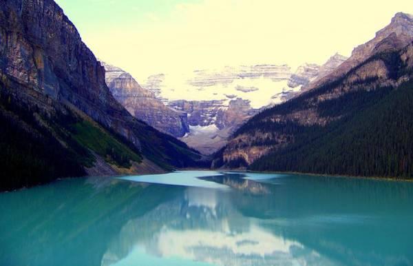 Photograph - Lake Louise Stillness by Karen Wiles