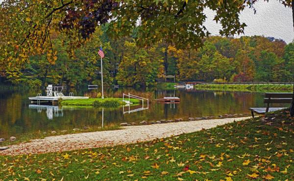 Digital Art - Lake Lucerne by Torrey McNeal