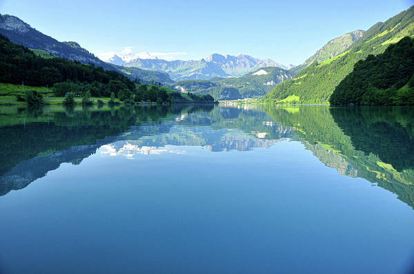 Ceca Wall Art - Photograph - Lake Lungern by Ceca Photography