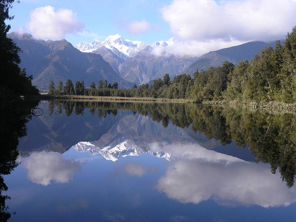 Photograph - Lake Matheson by Olaf Christian