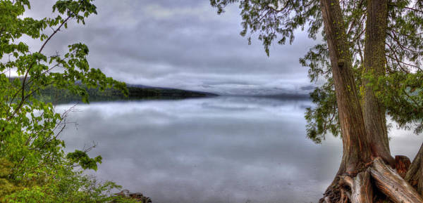 Photograph - Lake Mcdonald 1 by Lee Santa