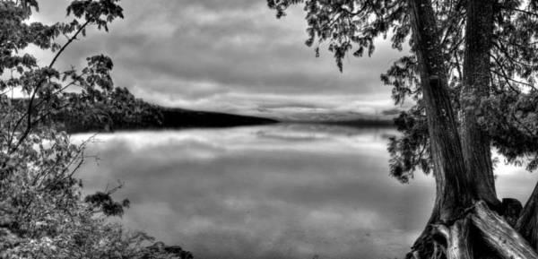 Photograph - Lake Mcdonald 2 by Lee Santa