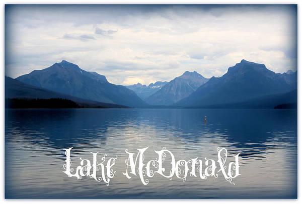 Photograph - Lake Mcdonald by Carol Groenen