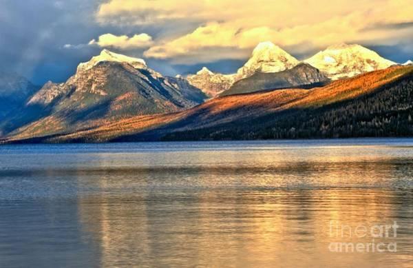 Photograph - Lake Mcdonald Sunset by Adam Jewell