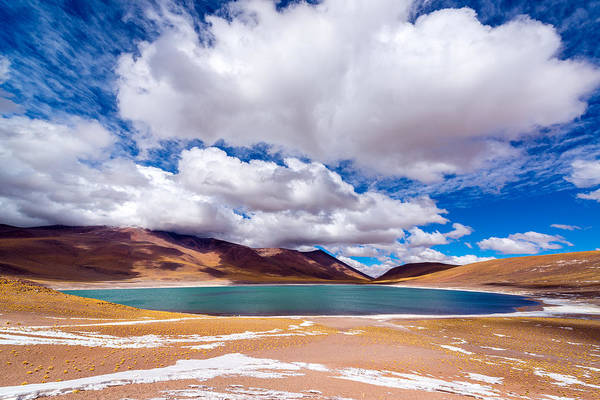 Wall Art - Photograph - Lake Meniques In Chile by Jess Kraft