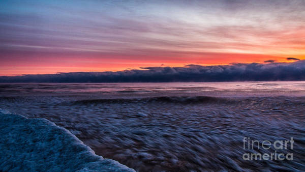 Wall Art - Photograph - Lake Michigan Icy Whirl by Andrew Slater