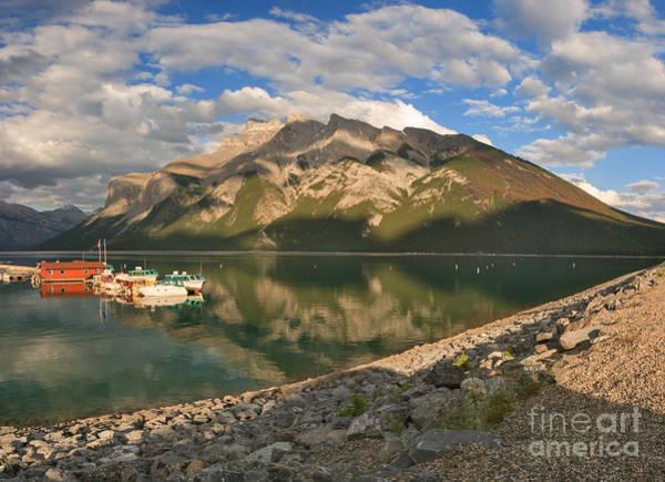 Photograph - Lake Minnewanka Eve by Charles Kozierok