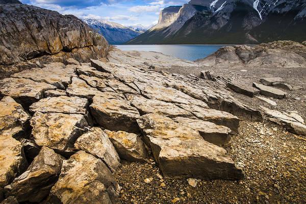Wall Art - Photograph - Lake Minnewanka Horizontal by Chris Halford