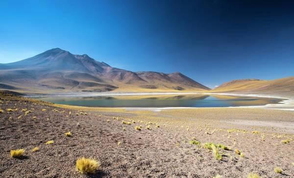 Laguna Mountains Photograph - Lake Miscanti by Peter J. Raymond