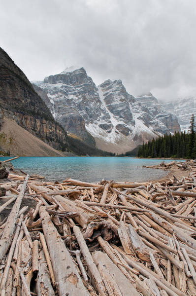 Photograph - Lake Moraine by U Schade