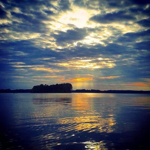 Photograph - Lake Murray Sunset by Lisa Wooten