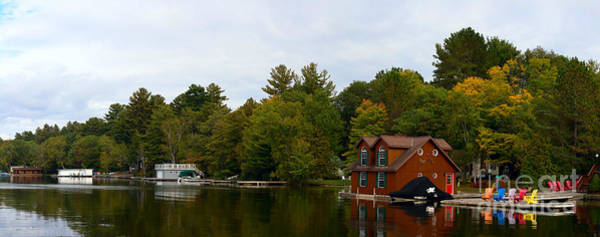 Photograph - Lake Muskoka by Les Palenik