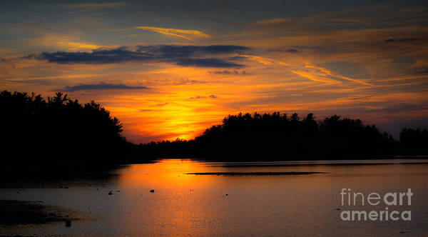 Photograph - Lake Naomi Pocono Sunset by Gary Keesler