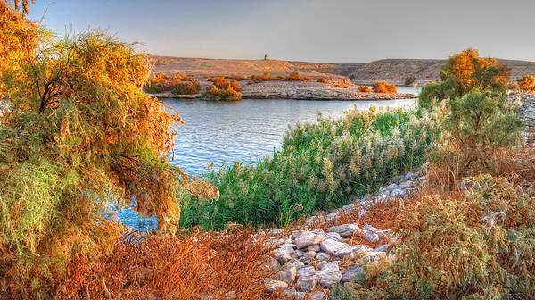 Photograph - Lake Nasser Sunset by Nigel Fletcher-Jones