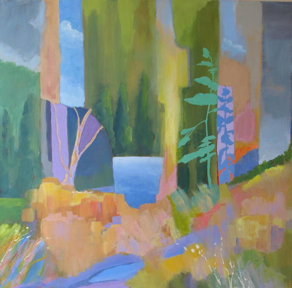 Painting - Lake Of The Woods by John Nussbaum