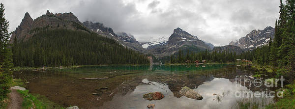 Photograph - Lake O'hara Panoramic by Charles Kozierok