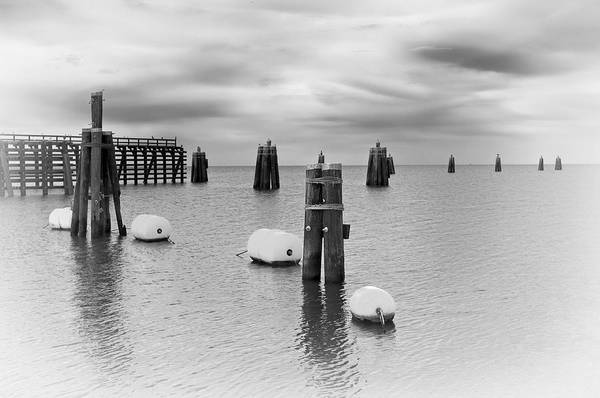 Lake Okeechobee Wall Art - Photograph - Lake Okee Pilings by Patrick M Lynch