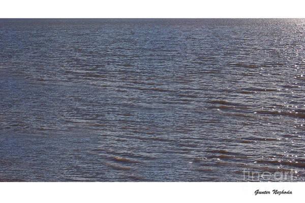 Photograph - Lake On White by Gunter Nezhoda