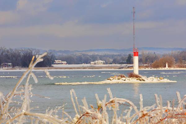 Lake Louise Wall Art - Photograph - Lake Ontario In Winter by Louise Heusinkveld