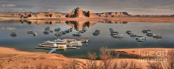 Houseboat Photograph - Lake Powell by Adam Jewell
