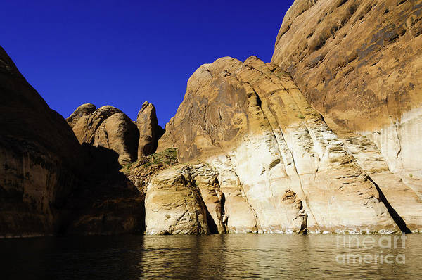Photograph - Lake Powell Rock And Sky by Thomas R Fletcher