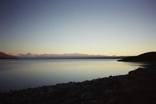 Wall Art - Photograph - Lake Pukaki First Light by Peter Mooyman