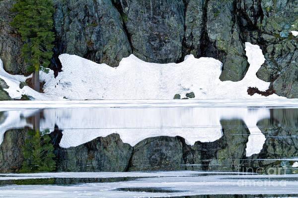 Photograph - Lake Reflection by Stuart Gordon