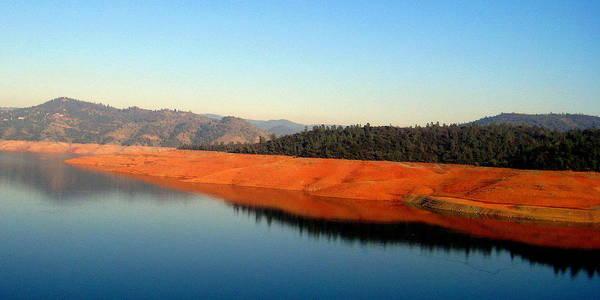 Photograph - Lake Reflections by AJ  Schibig