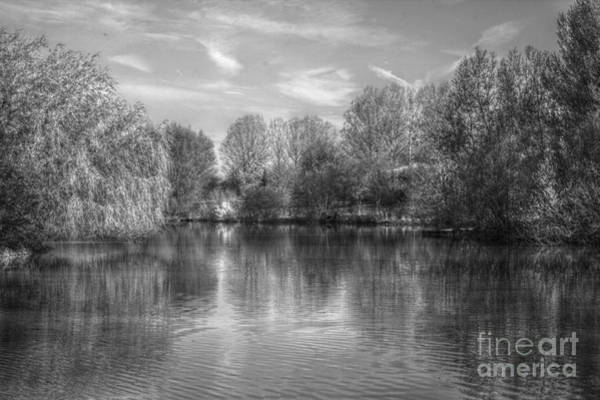 Photograph - Lake Reflections Mono by Jeremy Hayden