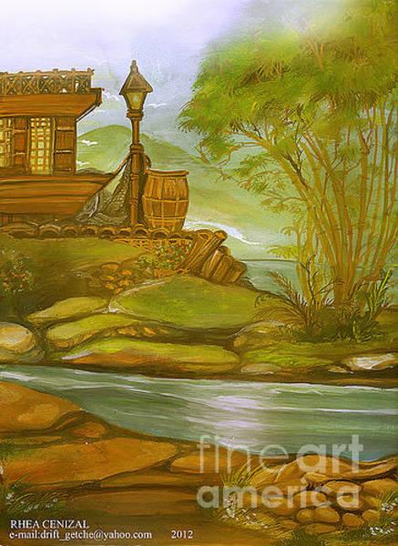 Rhea Painting - Lake by Rhea Cenizal