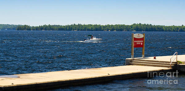 Photograph - Lake Rosseau by Les Palenik