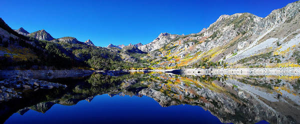 Inyo Mountains Photograph - Lake Sabrina Fall Reflection by Scott McGuire