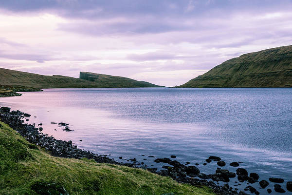 Wall Art - Photograph - Lake Sorvagsvatn Scenery, Faroe by Thomas Bekker