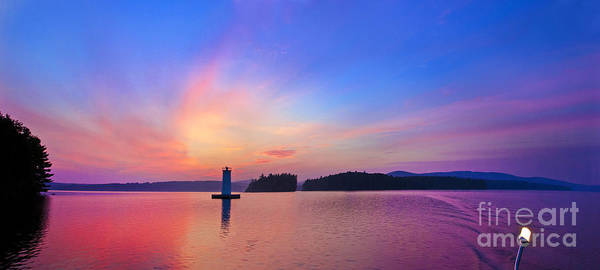 Jim Photograph - Lake Sunapee At Dawn by Jim Block