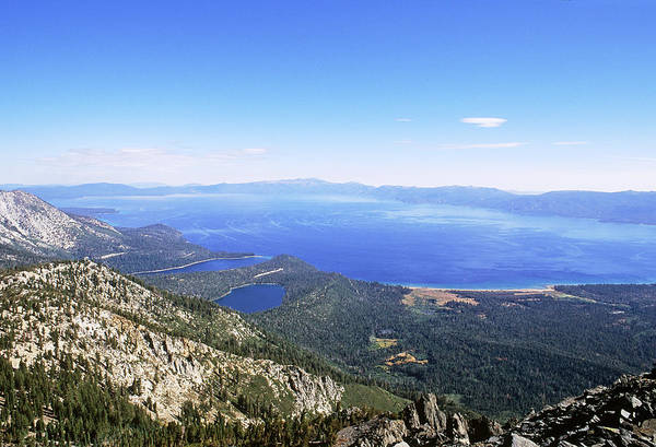 Desolation Photograph - Lake Tahoe, California by David Weintraub