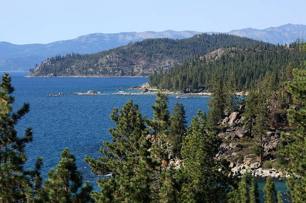 Photograph - Lake Tahoe Nevada by Aidan Moran