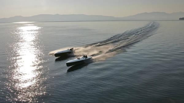 Photograph - Lake Tahoe Raceboats by Steven Lapkin